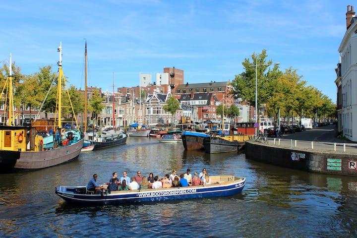 Boat Cruise in Groningen, Netherlands