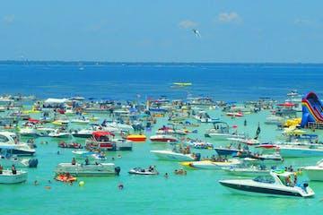 Crab Island in Destin, Florida