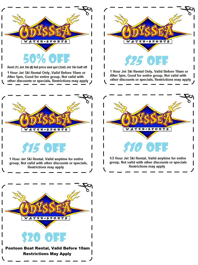 Odyssea Watersports Coupons