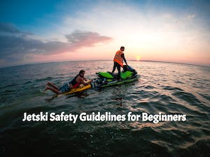 Jetski guide keeping customers safe while on the water