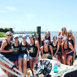 pontoon boat rental Ocean CIty