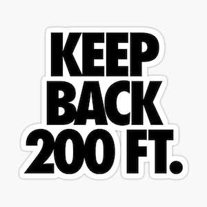 200 ft logo