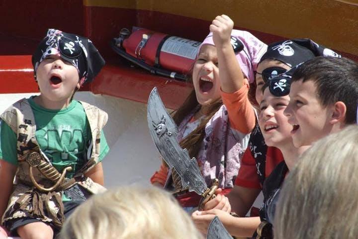 kids in pirate costumes