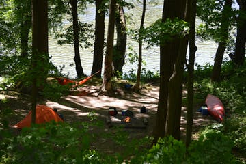 Campground with Hammock