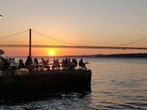 Sunset Cais do Ginjal - Lisboa