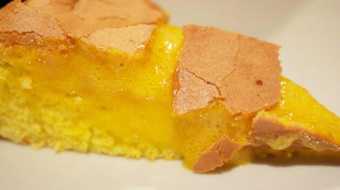 Sponge cake close up
