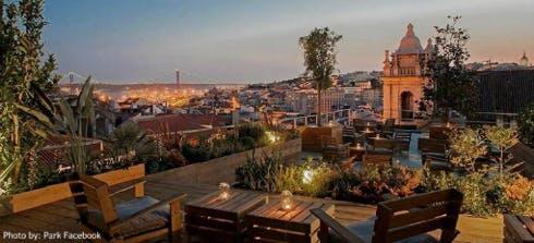 Park rooftop bar Lisbon
