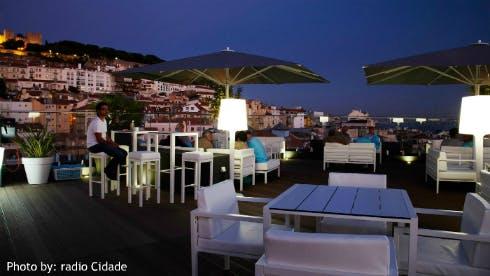 Rooftop Bar Hotel Mundial Lisbon