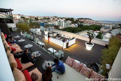 Sky Bar - Hotel Tivoli lisbon