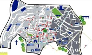 mapa campo de ourique