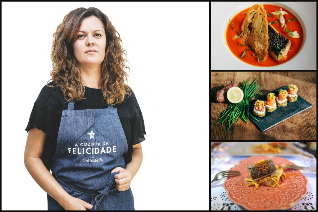 Portuguese female chef Susana Felicidade