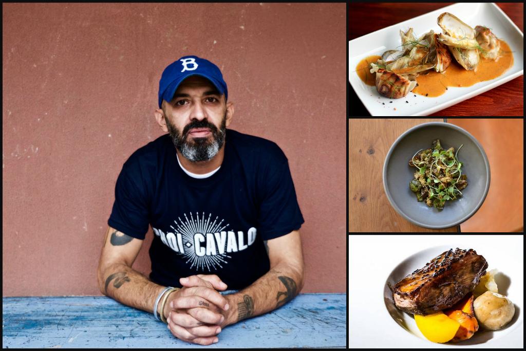 Portuguese chef Hugo Brito