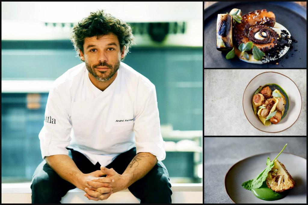 Portuguese chef André Fernandes