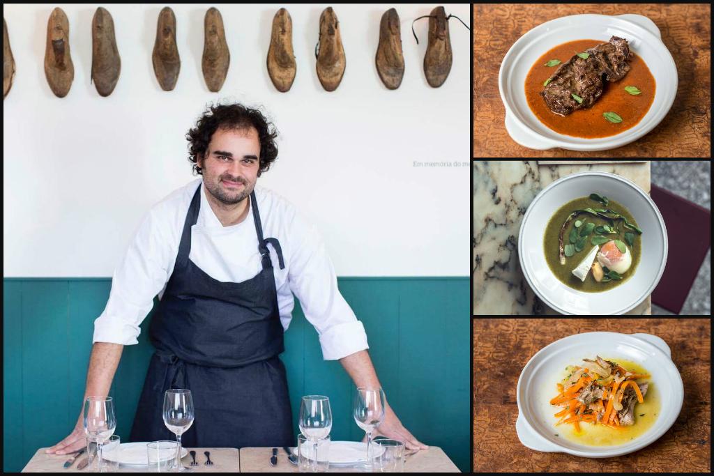 Portuguese chef Leopoldo Calhau