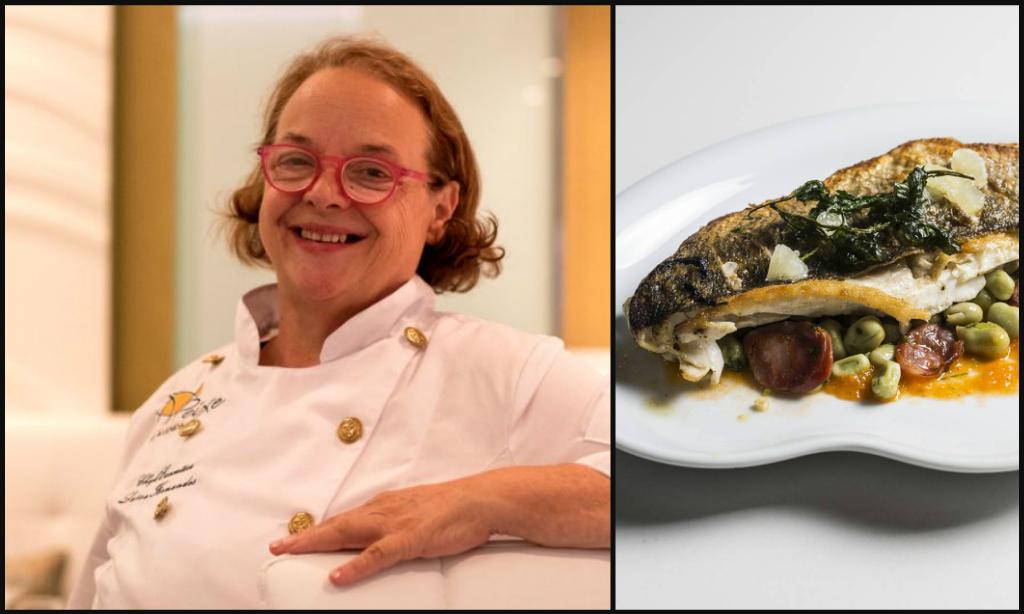 Portuguese female chef Luisa Fernandes