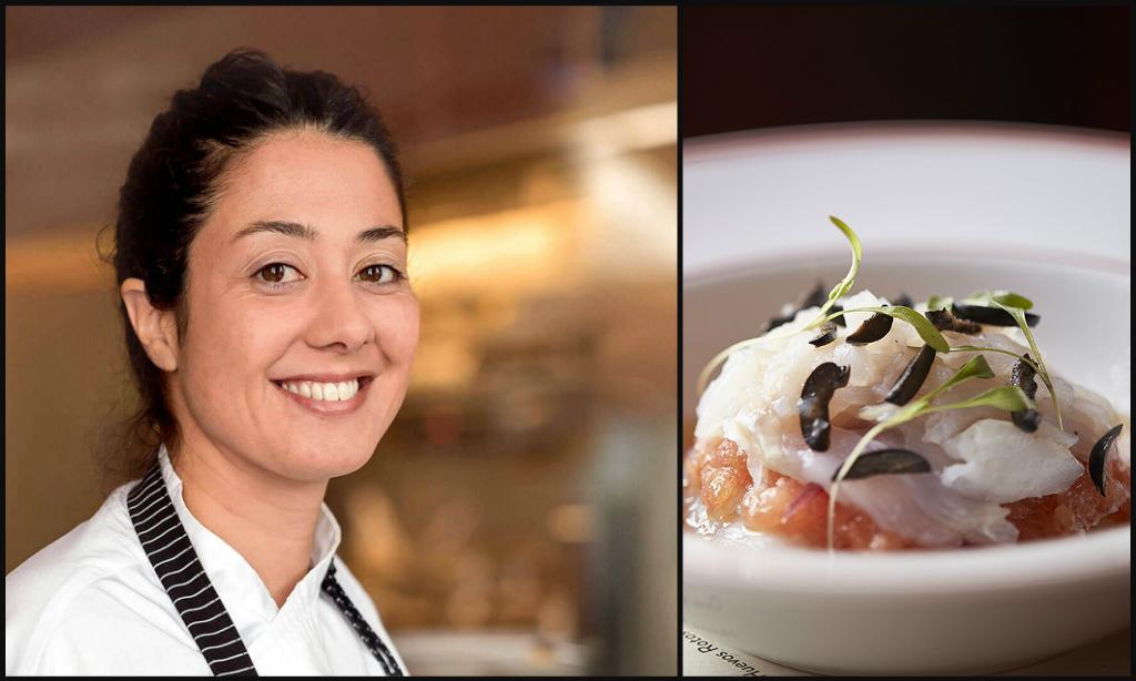 Portuguese female chef Joana Duarte