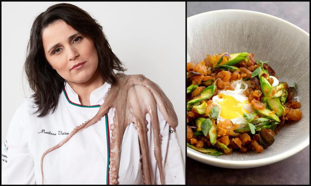 Portuguese female chef Marlene Vieira