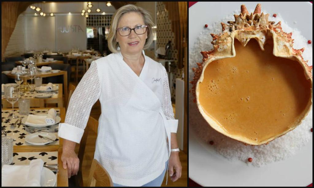 Portuguese female chef Justa Nobre