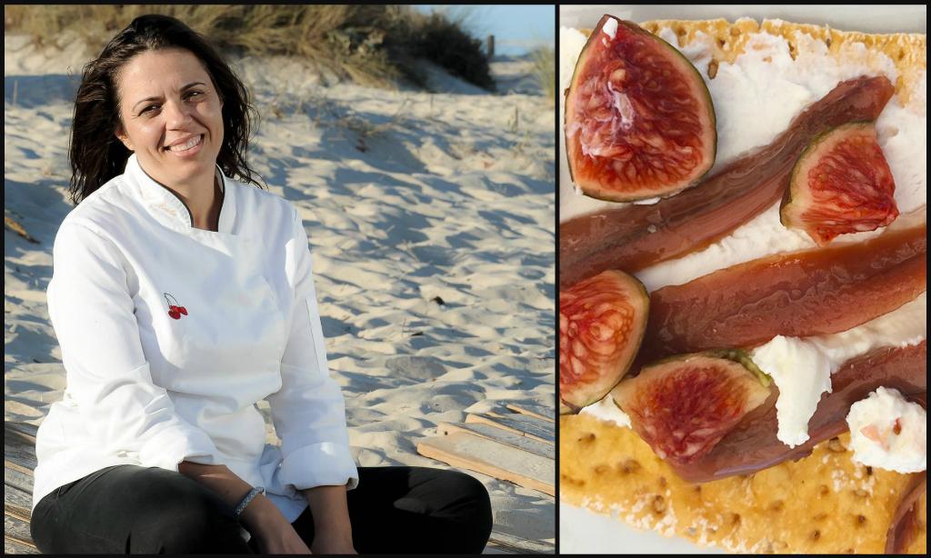 Portuguese female chef Noelia Jeronimo