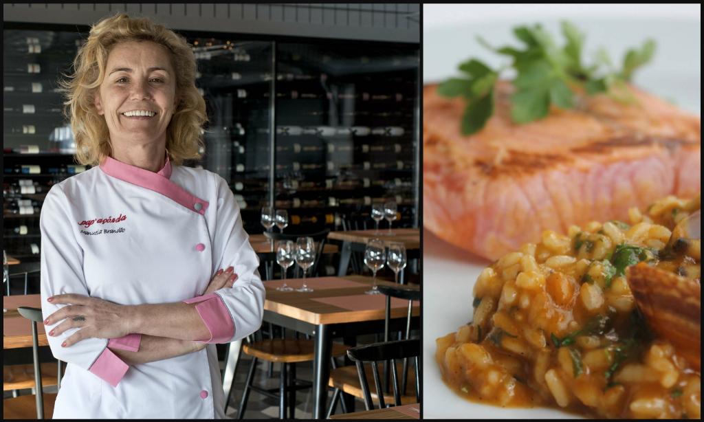 Portuguese female chef Manuela Brandão