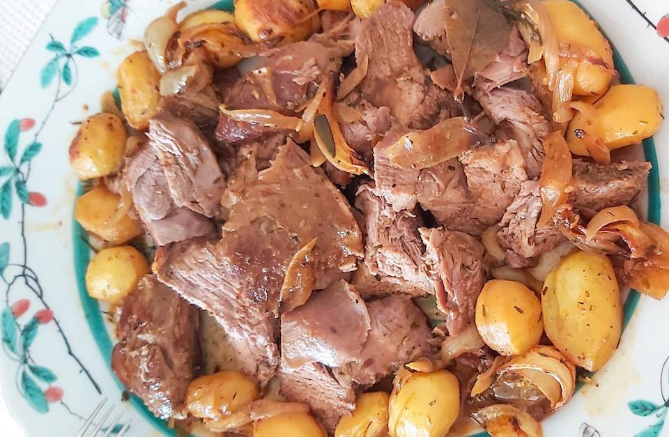 Portuguese roasted lamb