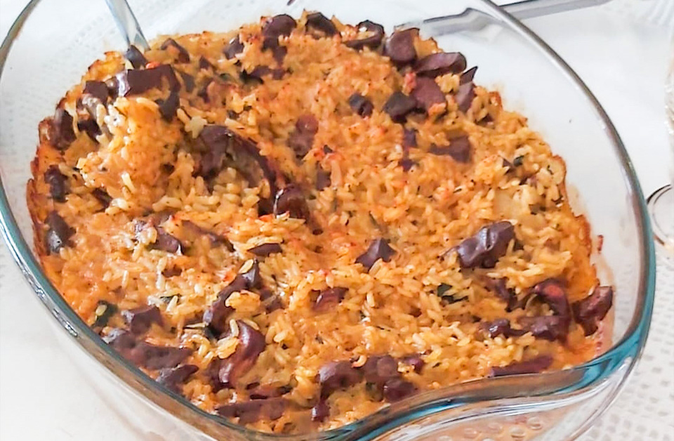 Portuguese Easter rice