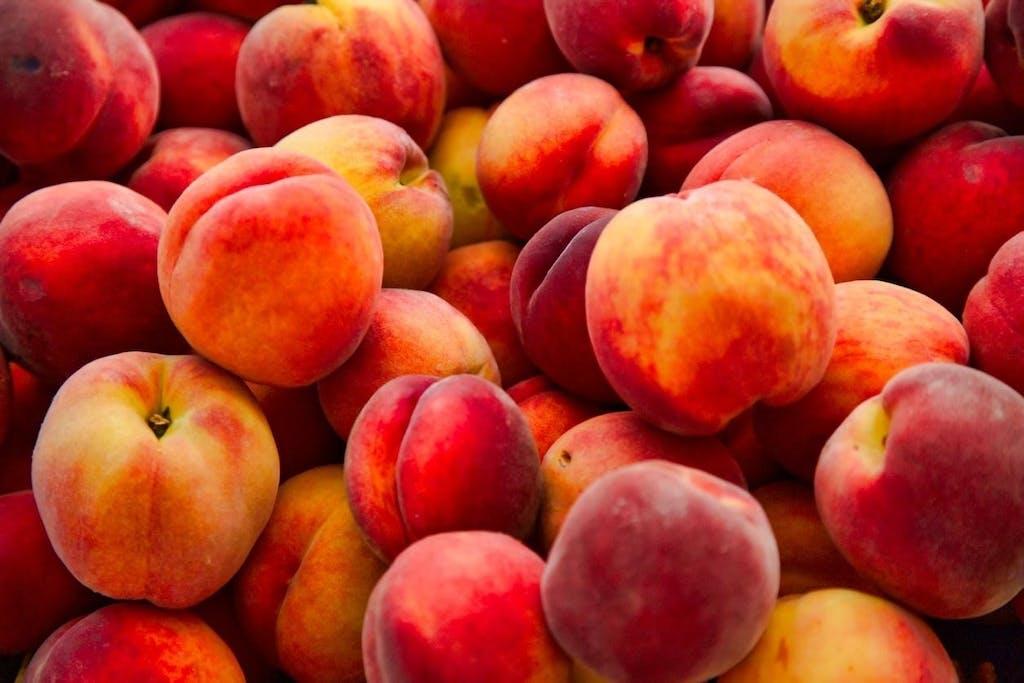 pêssegos fruta