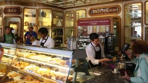 Lisbon bakery