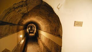 Lisbon Roman galleries - there are intricate underground channels that cover a big portion of central Lisbon, some of them dating back to Roman occupation times, that is, over 2000 years ago.