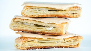 Portuguese pastry: jesuitas