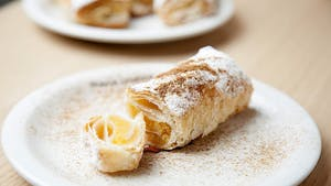 Portuguese pastry: travesseiros