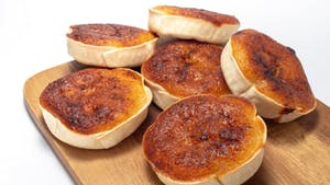 Portuguese pastry: queijada