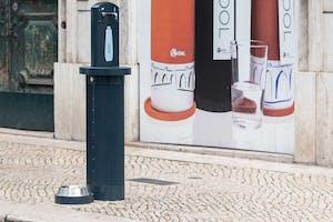 Public water in Lisbon