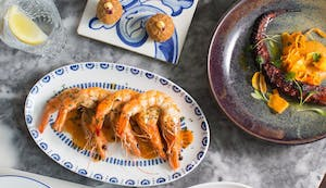 Portuguese seafood and wine in London
