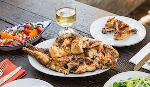 Portuguese chicken peri-peri food and wine in London