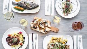 Portuguese food and wine in Canada - peixe e lulas