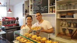 Portuguese food and drinks in Australia - pastel de nata