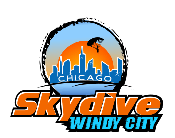 Skydive Windy City Chicago Logo