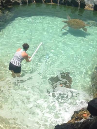Coral World enrichment 2