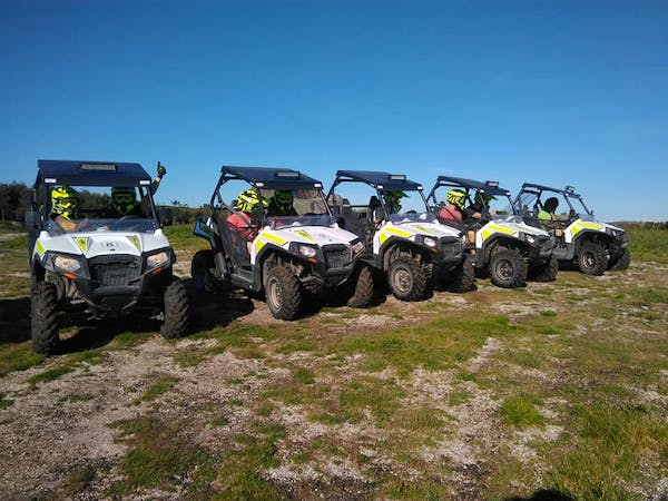 group tour in UTV Buggies