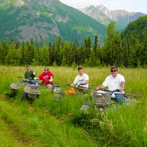 ATV wilderness tours in Alaska