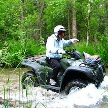 ATV tour in Alaska
