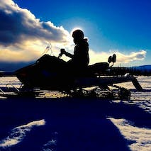 Snowmobile the Alaskan backcountry