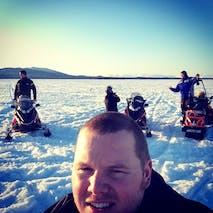 Snowmobile tours in Alaska