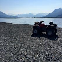 Scenic ATV tours in Alaska