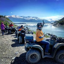 ATV tours to Knik Glacier in Alaska