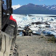 ATV through wild Alaskan scenery