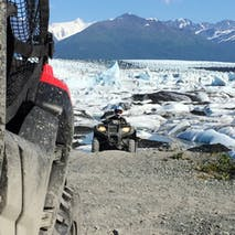 ATV through wild Alaskan scenery