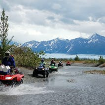 Scenic ATV tours in Alaska