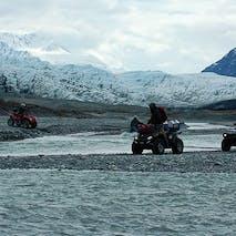 ATV glacier tours in Alaska